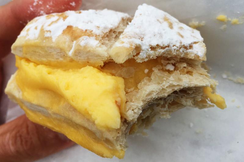 Vanilla slice: Sunny Hot Bread