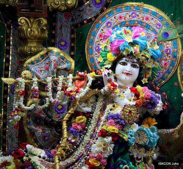 ISKCON Juhu Sringar Deity Darshan on 3rd May 2019
