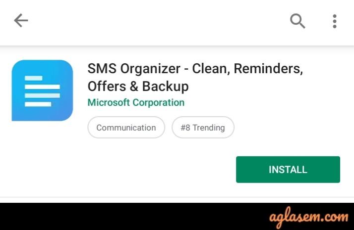 CBSE 10th, 12th Result 2019 Through Microsoft SMS Organiser