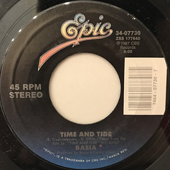 BASIA:TIME AND TIDE(LABEL SIDE-A)