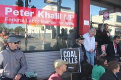 POutting some meditation heat at Vigil outside Peter Khalil office #climatestrike #Fridaysforfuture - IMG_4587