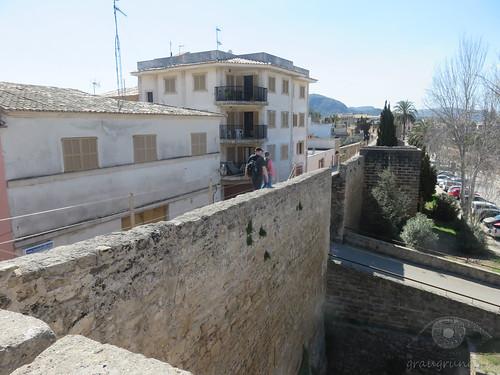 Alcudia - Stadtmauer