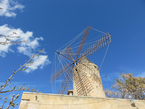 Palma de Mallorca - Windmühle