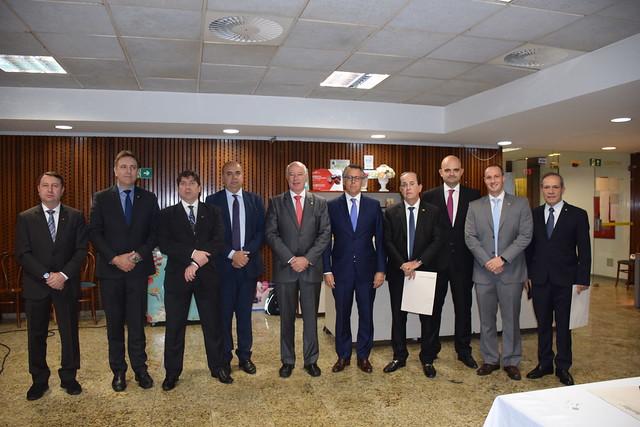 Reuni�o com Deputados Federais de S�o Paulo