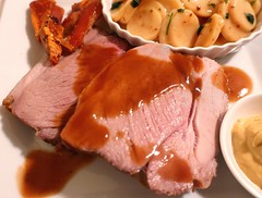 "PORK NIRVANA – ""SCHWEINEBRATEN MIT KARTOFFELSALAT & BRATENSAFT"" – (ROAST PORK WITH POTATO SALAD & JUS)"