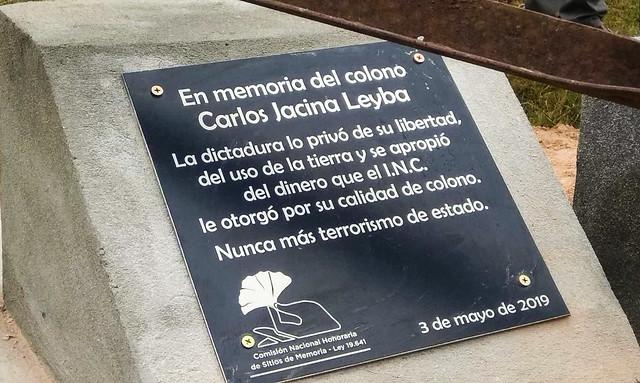 Memorial a Carlos Jacina Leyba - San Javier