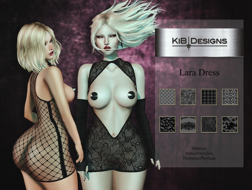 KiB Designs - Lara Dress @Suicide Dollz - TeleportHub.com Live!
