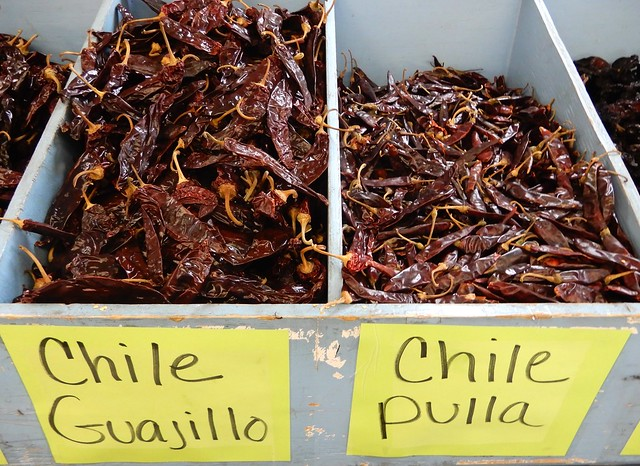 peppers, dried