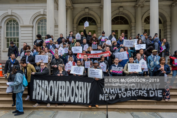 Activists slam Cuomo's inaction on Overdose Prevention Centers