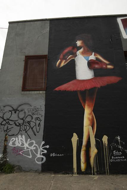 Street Art - Bushwick, Brooklyn, New York City