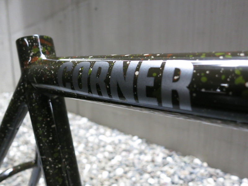 Corner Bikes Gravel Camo FF  Logo