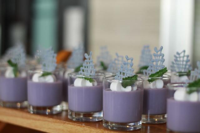 Lavender Earl Grey Panna Cotta
