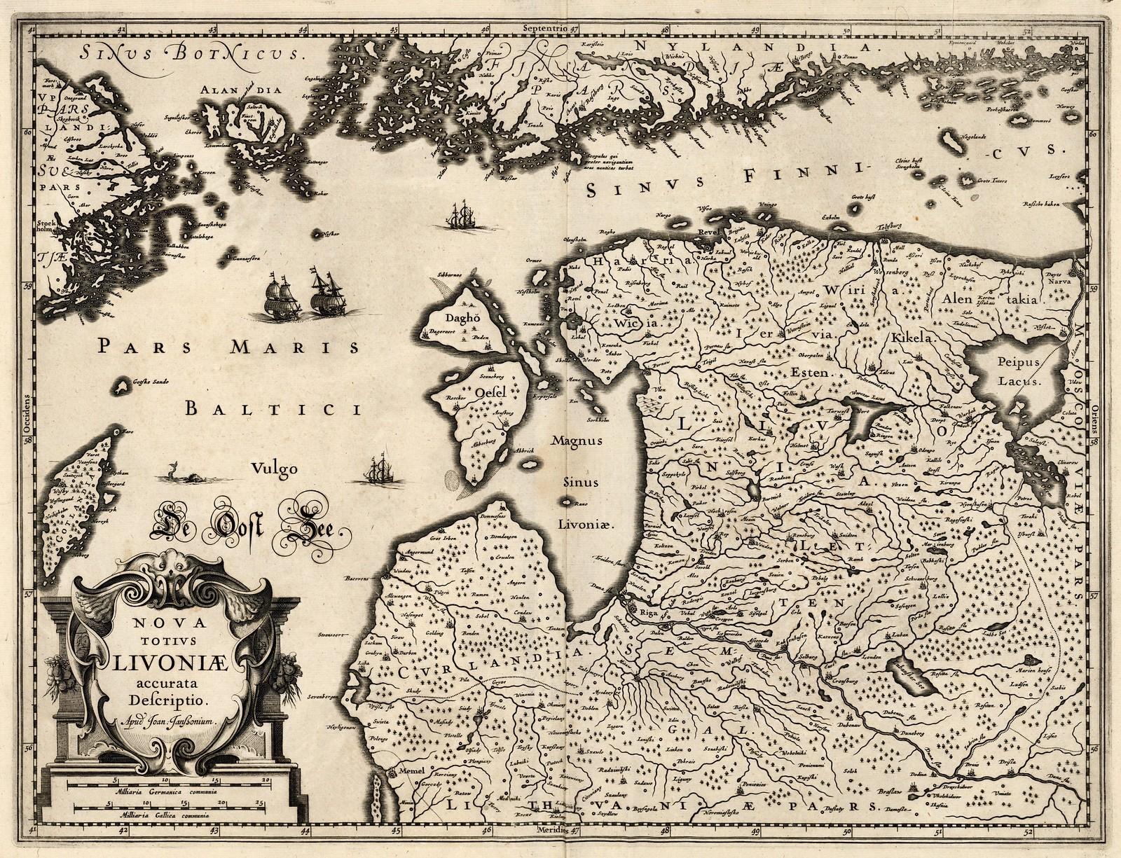 1630-е. Новое точное описание Ливонии