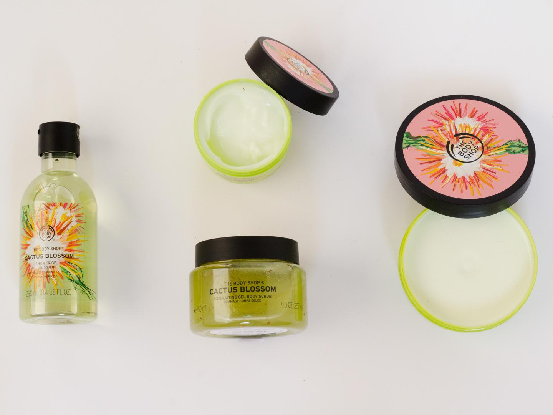 Lentekriebels met de Cactus Blossom collectie van The Body Shop