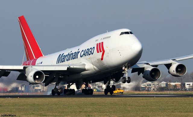 Martinair Holland Boeing 747-412(BCF) PH-MPS