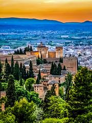 Alhambra from Silla del Moro