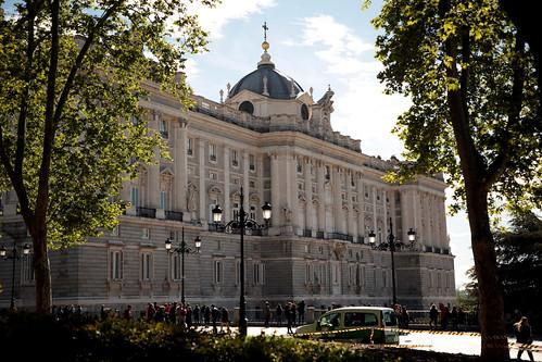 Vista del palazzo reale