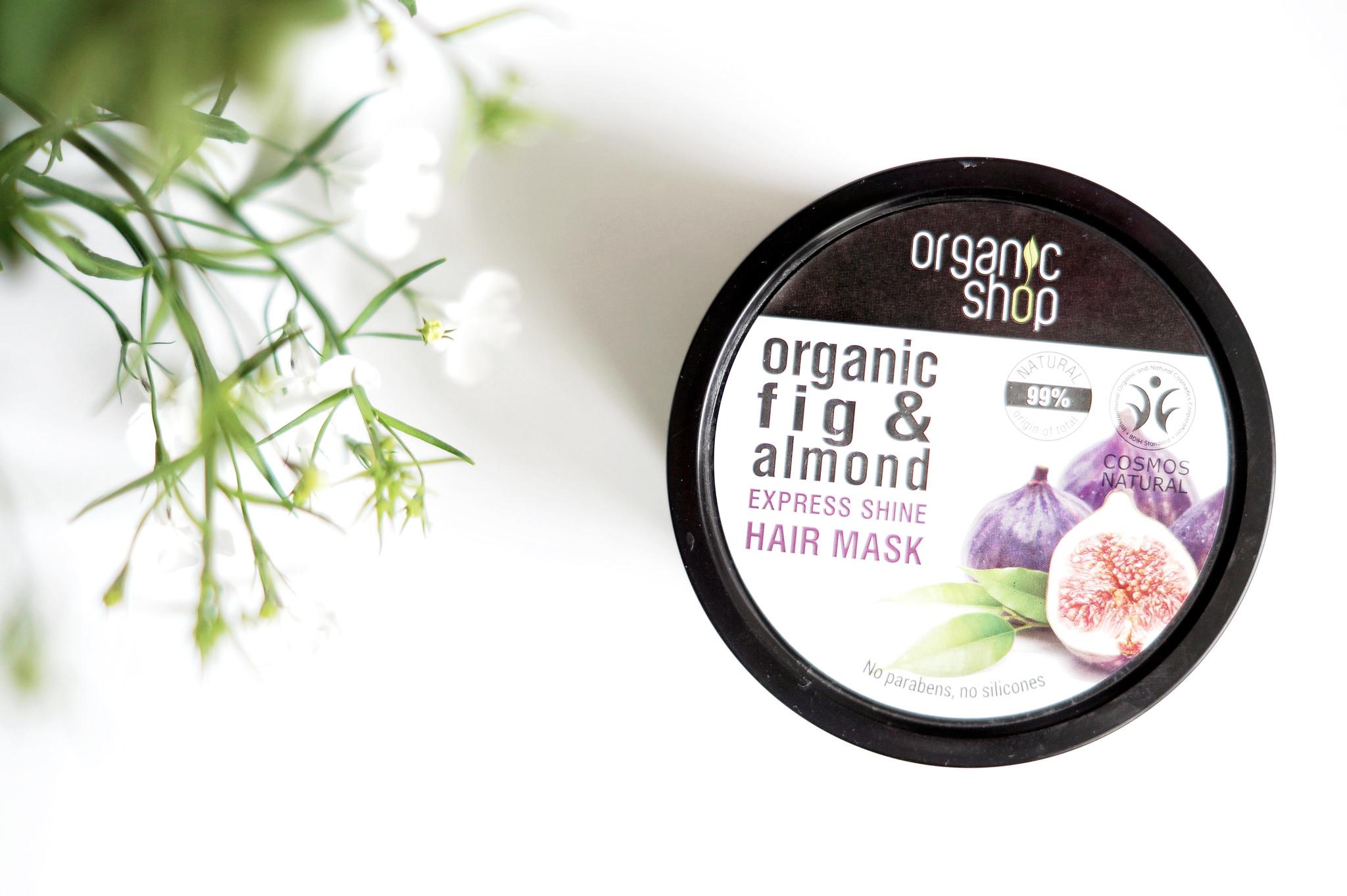 organic shop viikuna hiusnaamio