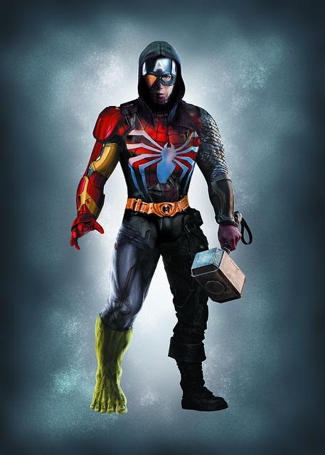 My own superhero