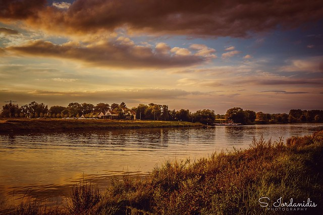 Sunset at the River, Steyl-Netherlands
