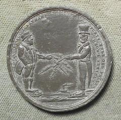 1858 Atlantic Telegraph Medal obverse
