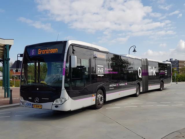 NLD Qbuzz 3455 - 6 ● Delfzijl Station