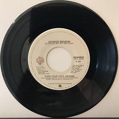 GEORGE BENSON:TURN YOUR LOVE AROUND(RECORD SIDE-A)