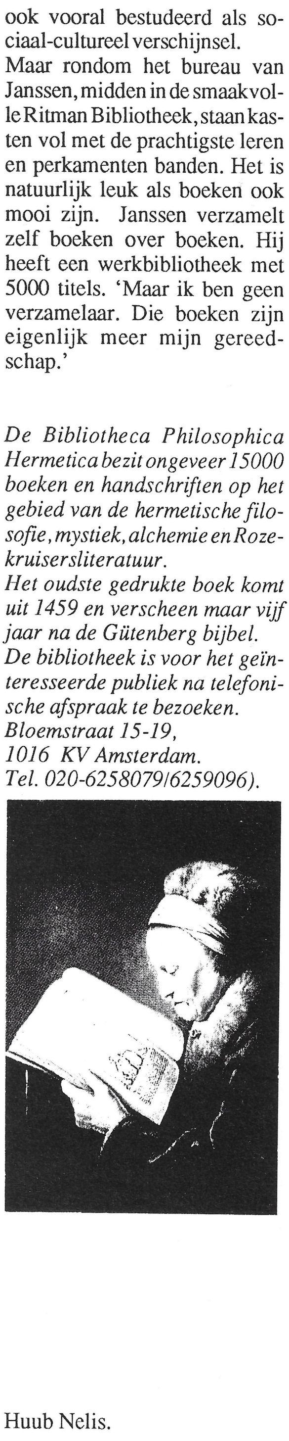 BoekenpostEersteJaargangNummer2NovDec1992 11Kolom9