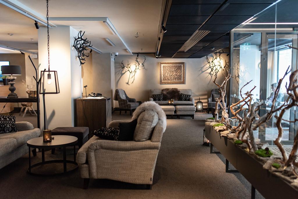lapland hotels bulevardi lobby