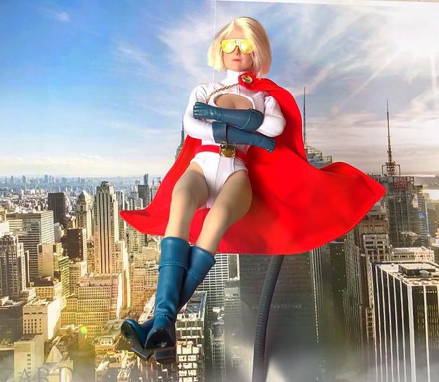 Jus chillin' 😎 💙❤️ #powergirl #karazorl #supergirlsunday #supergirlsunglasses #soaring #supergirl #superman #superhero #karazorel  #dcsuperherogirls