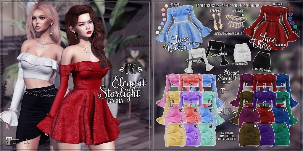 Loki • Elegant Starlight GACHA • Cosmopolitan | May '19