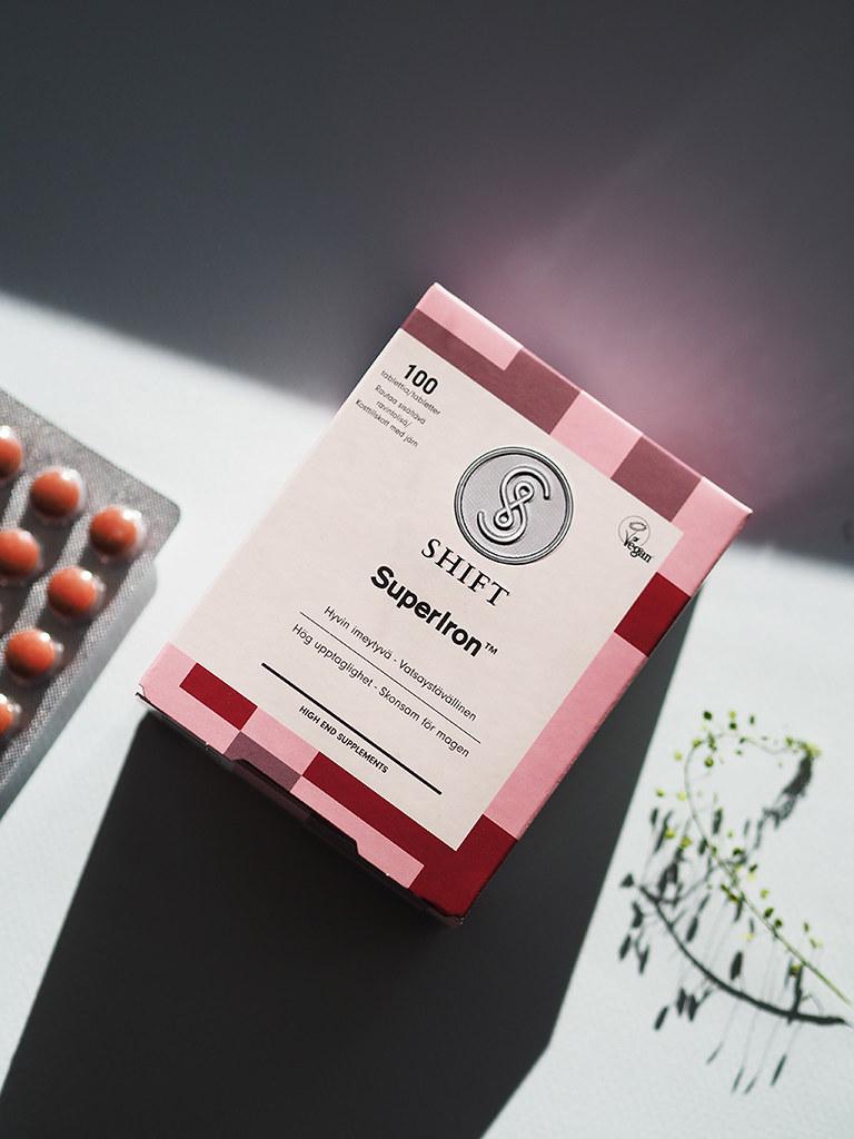 RAUTA luonnollinen ravintolisä ferritiini
