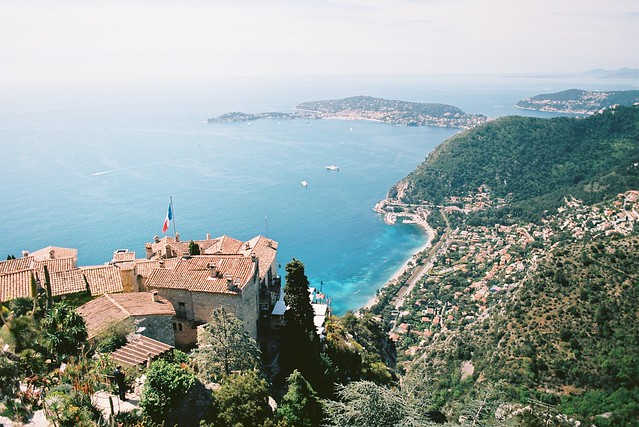 Overview from Eze Village