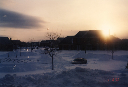 newjersey nj westwindsor suburban culdesac snow sunset mcmansion suburbs suburb