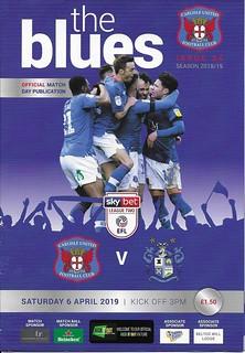 Carlisle United V Bury 6-4-19 | by cumbriangroundhopper