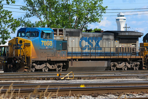 CSX 7868, Osborn Yard, Louisville,KY 5/5/2019 | by Bluegrass Railfan