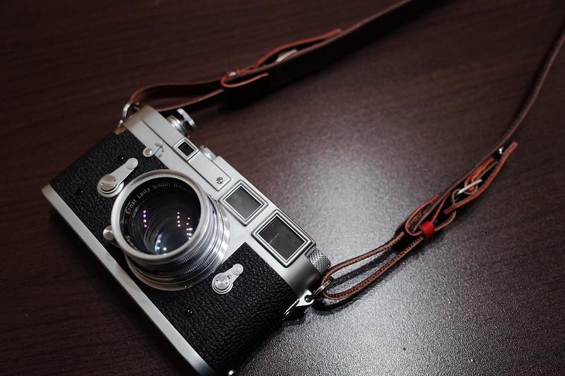 Leica M2+カシェ レッタ for LEICA チョコ120cm