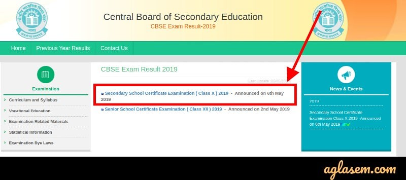 CBSE Class 10th Result Announced at cbseresults.nic.in; Check Result Here