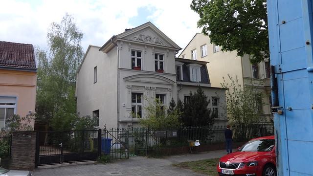 um 1880 Berlin Mietswohnhaus Ahornallee 15 in 12587 Friedrichshagen