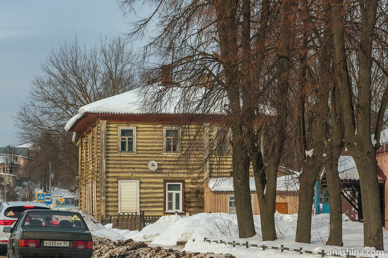 Деревянный дом по Ростовской улице, Переславль-Залесский