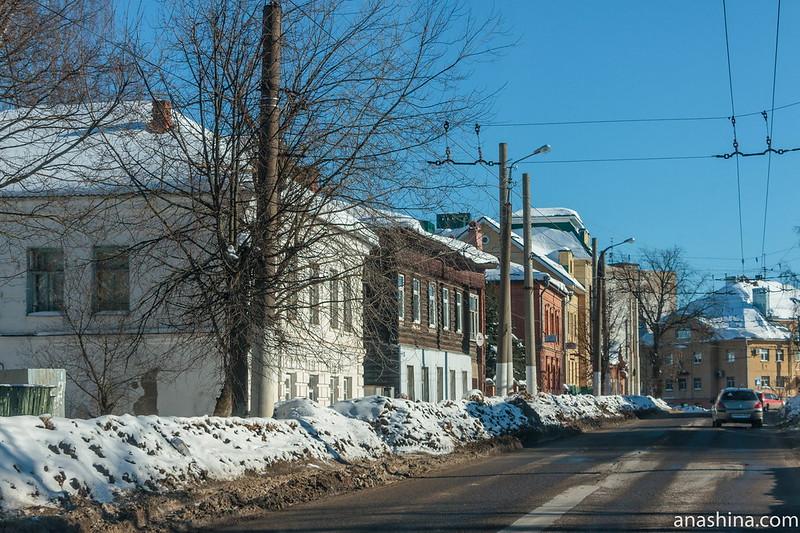 Одна из улиц Костромы