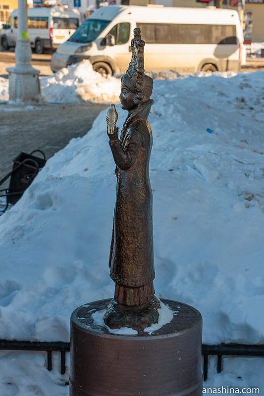 Скульптура Снегурочки, Кострома