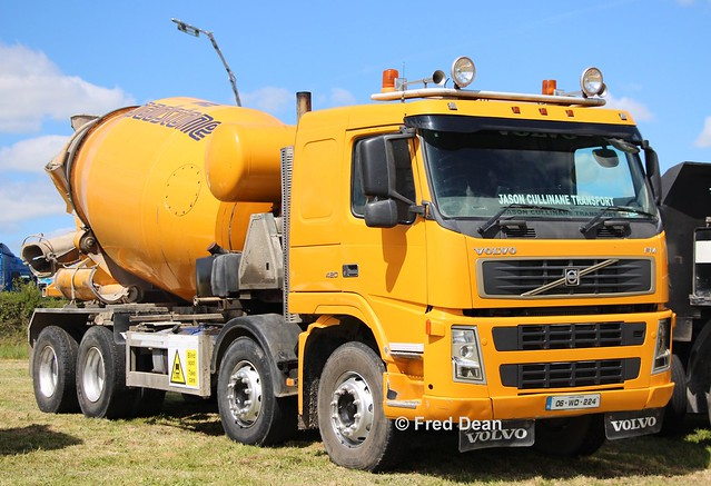 Jason Cullinane Transport (Roadstone) Volvo FM (06WD224).