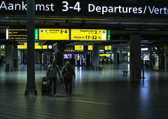 04.15 AM - Schiphol Airport / Amsterdam.