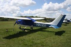G-ZEVS Reims-Cessna F172H [0736] Popham 040519