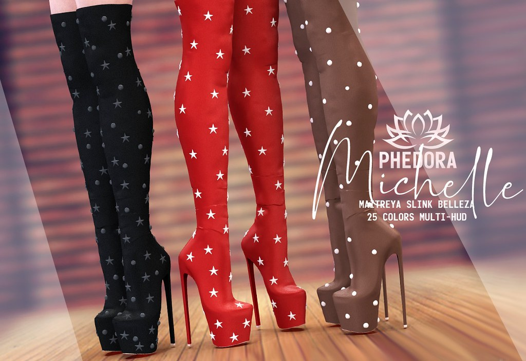 "Phedora. for Belle. Events – ""Michelle"" boots ♥"