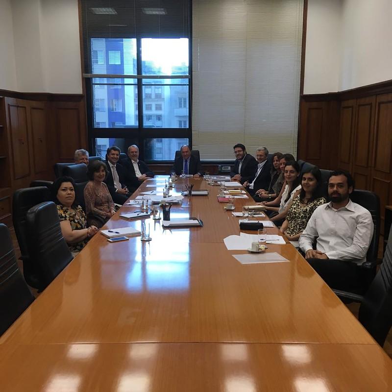 Reunião na Secretaria da Fazenda e Planejamento