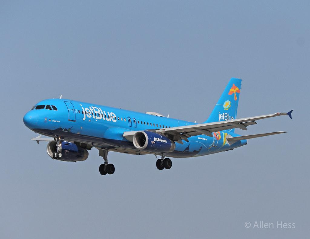 """Jet Blue Airways, Airbus A320 """"Bluercau"""".....2019-0501-050"""