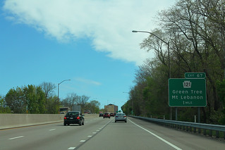 I-376 East - Exit 67 - PA121 One Mile