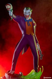 不只小丑,小丑魚也笑得你心裡發寒~ Sideshow Collectibles DC The Animated Series【小丑】The Joker 全身雕像作品 普通版/EX版